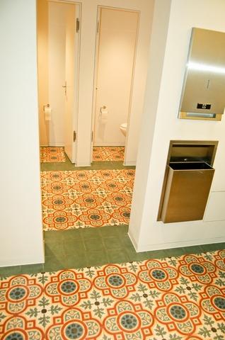 Gäste WC - Zementfliesen München