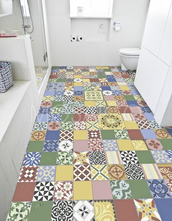 Zementfliesen Patchwork patchwork multicolour mosaico